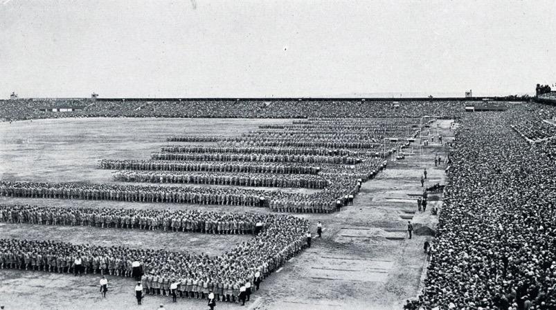1926 VIII All-Sokol Slet in Newly Built Strahov Stadium