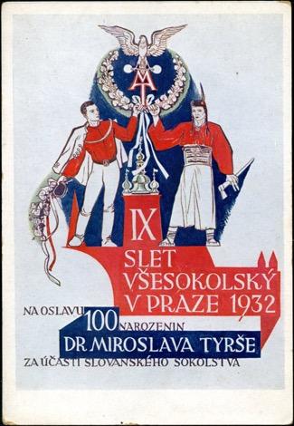 1932 IX All-Sokol Slet in Prague Poster
