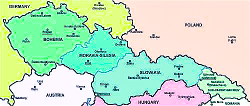 Czech Map 1918