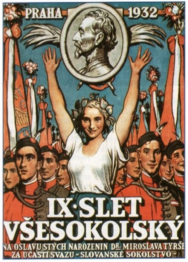 Posters for IX All-Sokol Slet held in 1932 v2
