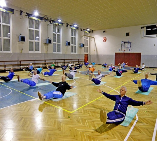Sokol Exercise Classes for Adults in the Czech Republic 2
