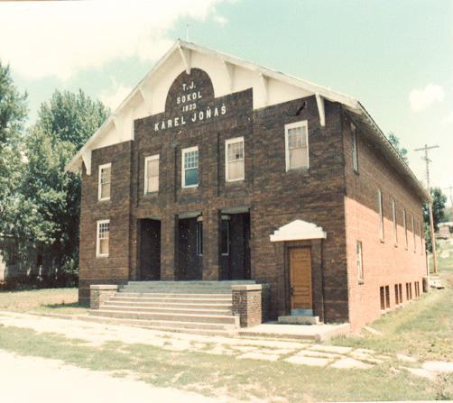 Sokol Karel Jonas in Abie, NE, founded in 1897