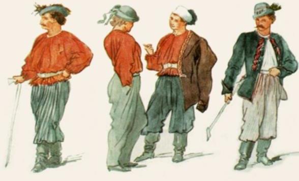 Sokol dress uniforms