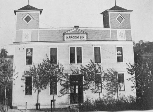 South Omaha Sokol (Fügner-Tyrš) 1888