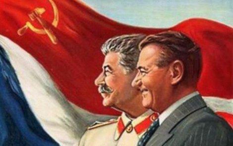 Soviet Union's grip on Czechoslovakia