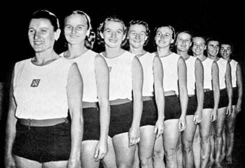 Women's gymnastic team