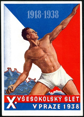 X All-Sokol Slet in 1938 Poster