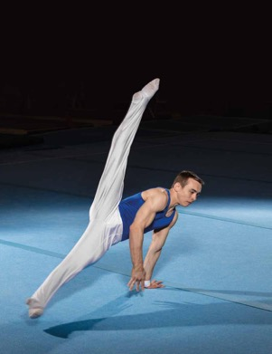 Young Czech Sokols competing in artistic gymnastics 2