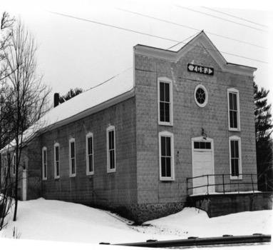 ZCBJ Hall, Cadott WI (late 19th century)