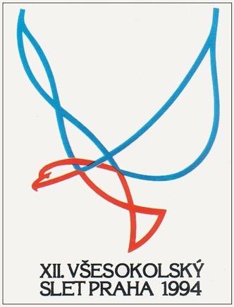 First Post-Communist Era Slet, 1994 (XII All-Sokol Slet in Strahov Stadium)