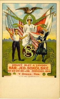 1914 National Union Slet held in Omaha