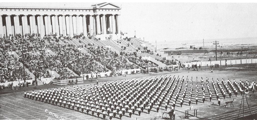 1925 American Sokol Organization Slet II in Chicago's Soldier Field