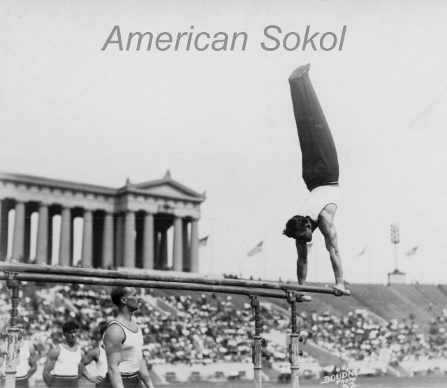 1929 American Sokol Slet III Chicago's Soldier Field Exhibition