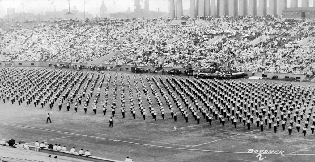 1933 American Sokol Slet in Chicago's Soldier Field