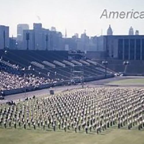 1953 American Sokol Organization Slet in Chicago's Solider Field