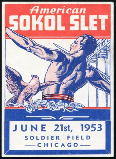 1953 VIII American Sokol Organization Slet