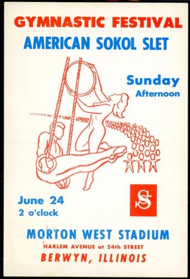1973 XIII Slet Berwyn, IL poster 2