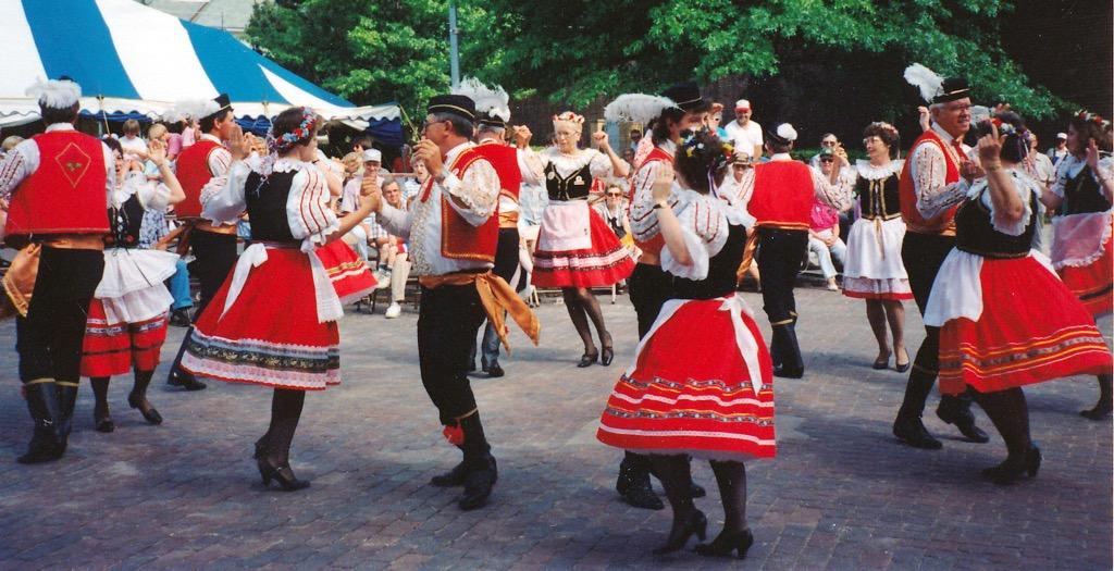 A Czech Festival in the town of Clarkson, NE