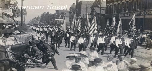 Parades in Chicago, circa 1908