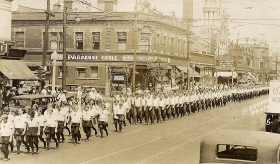 Amerincan Sokol Parades in Chicago 1930