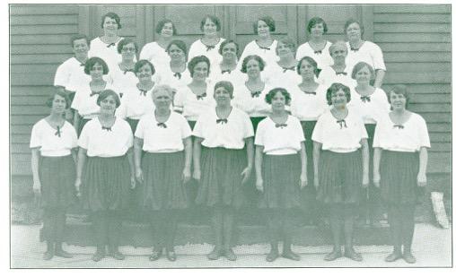 Čech-Havlícek Sokol, Cleveland (circa. 1921) Women