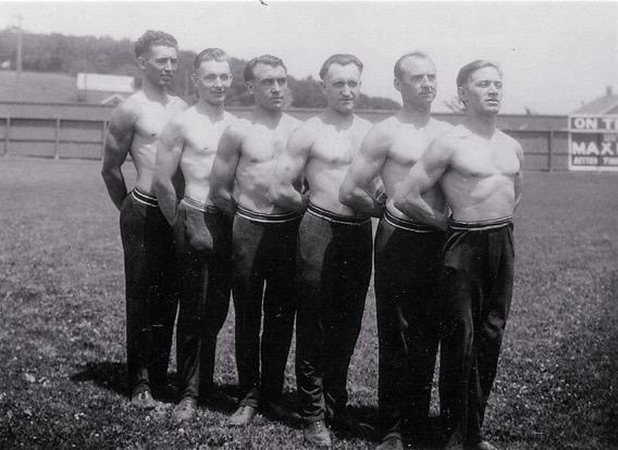 Cedar Rapids men's team (circa. About 1930)
