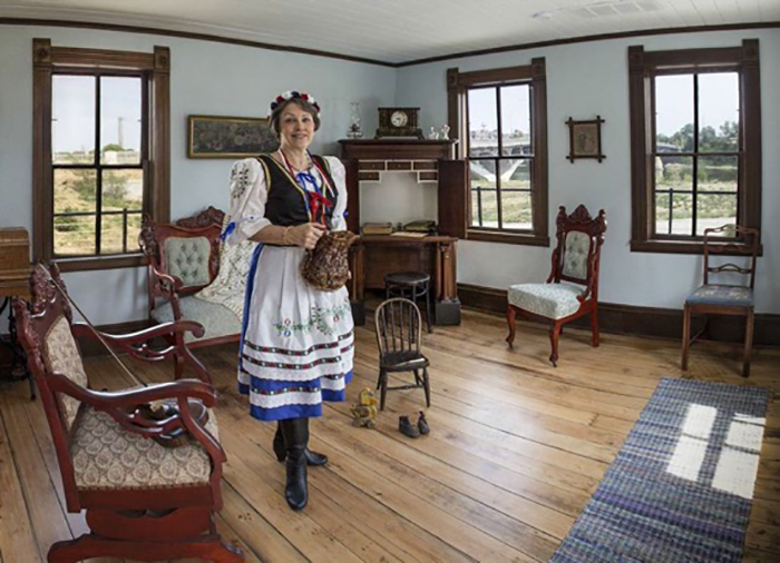 Czech immigrant's house at NCSML
