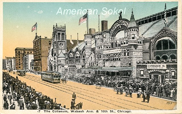 First Slet of the American Sokol Organization