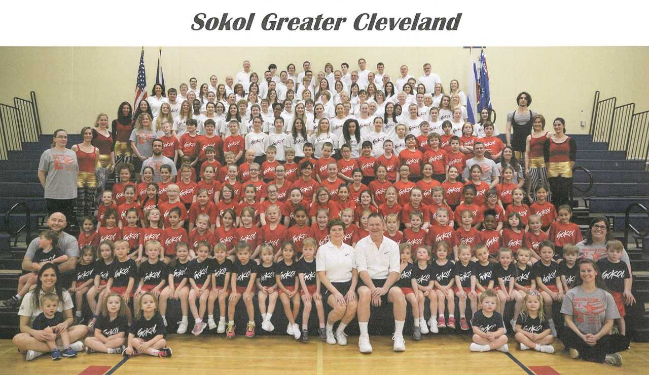 Many Sokol club mergers in Cleveland have facilitated a large active American Sokol Unit
