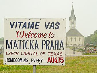 Maticka Praha homecoming