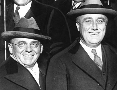 Mayor Cermak, who was a member of Sokol Pilsen, came to the US at the age of one. He appears in the photo with President Roosevelt