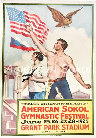 Second American Sokol Slet (1925) Soldier Field, Chicago 1
