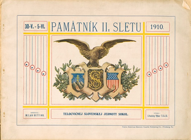 Second Slovak Sokol Slet (Trenton, NJ) in 1910
