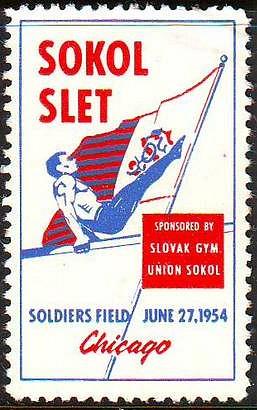 Slovak Gymnastic Union Sokol (SGUS) Slets of the 1950s 1