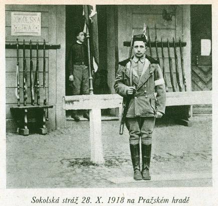 Sokol guards in 1918