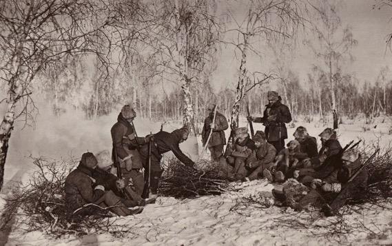 legionnaires in Russia