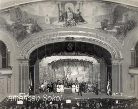 theater in Sokol Slavsky, Cicero IL